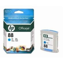 HP OfficeJet Pro K5400, L7580, L7680, L7780, cyan, 9ml, No.88 (C9386A) (O)