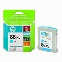 HP Office jet Pro K5400, K8600, L7580, L7680, L7780, cyan, 17,1ml, No.88 (C9391AE) (O)