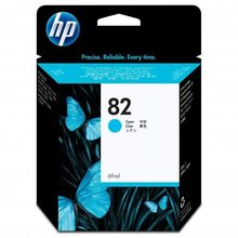 HP DesignJet 500, PS, 800, 815, cc800ps, 4200, cyan, 69ml, No.82 (C4911A) (O)