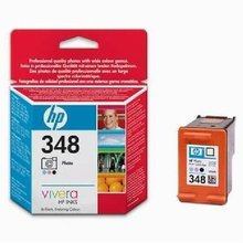 HP Photosm 8150, 8450, DJ 5740, 6540, photo black, 13ml, No.348 (C9369EE) (O)