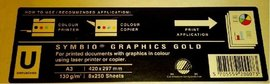SYMBIO GRAPHIC GOLD 130g A3 - Výprodej