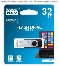 Goodram USB flash disk, 2.0, 32GB, UTS2, černý