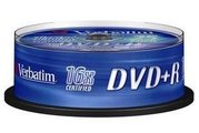DVD+R 4,7 GB CAKE box 25 ks