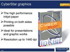 CYBERSTAR photo inkjet MAT B�L� 180g A4